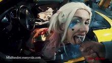 Harley Quinn takes cum