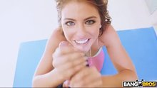 Beautiful Eyes Adriana Chechik Hottest Blowjob