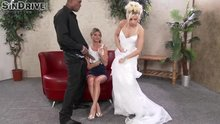 Bride Shows Teen Friend How To Handle A BBC