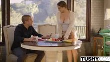 She has finally seduced him