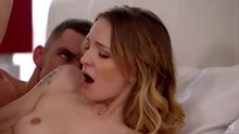 Tina Kay strokes him onto Bella