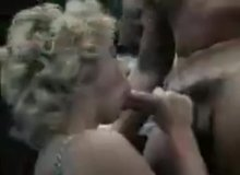 Gina Carrera wins the BJ competition with a gooey nut to the face