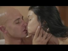 Veronika Blaze enthusiastically makes him pop in her mouth