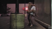 Fucking Nicole Aniston in a parking lot.