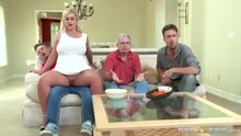 Ryan Conner sits on her stepson's dick