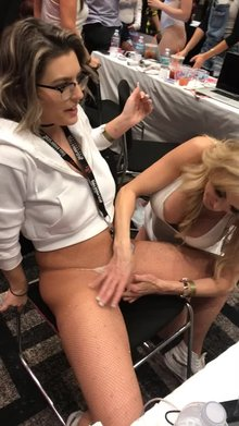 Brandi Love making me cum at AVN