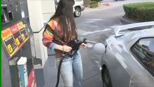Flashing at a gas station