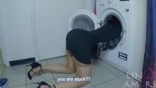 Linoo Amors - Step mom stuck in a washer
