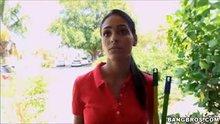 Jasmine Caro | Big tit latina maid