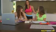 Jenna Sativa, Kendra Lust in Yoga Fucked